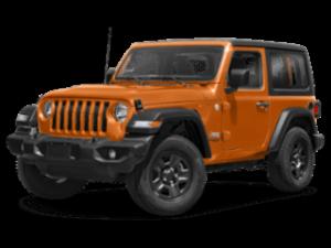 2019 Jeep Wrangler angled