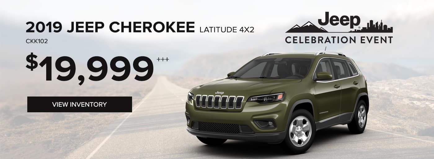 2019 Jeep Cherokee Latitude 4x2 Special Offer