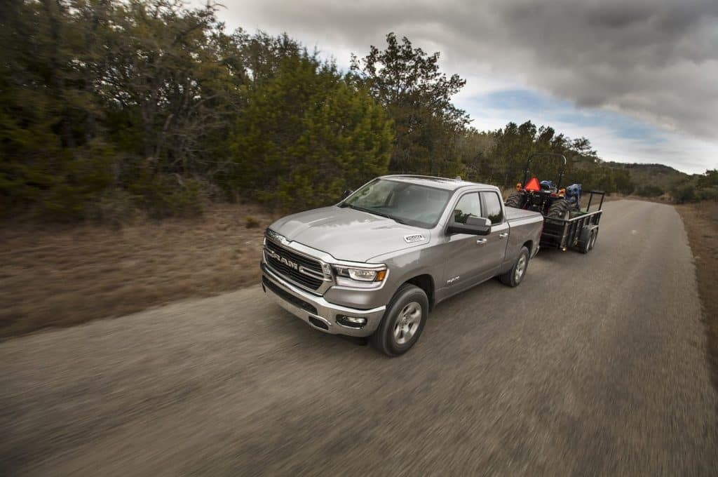 Ram 1500 Towing Capacity >> How Much Can The 2019 Ram 1500 Pickup Truck Tow Douglas Jcdr