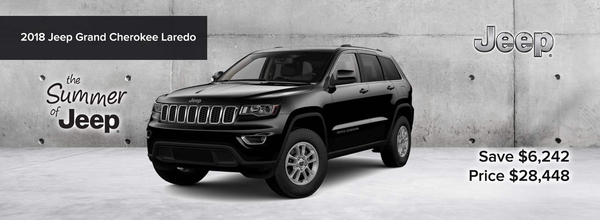 2018 Jeep Grand Cherokee The Summer of Jeep Event_August 2019 desktop