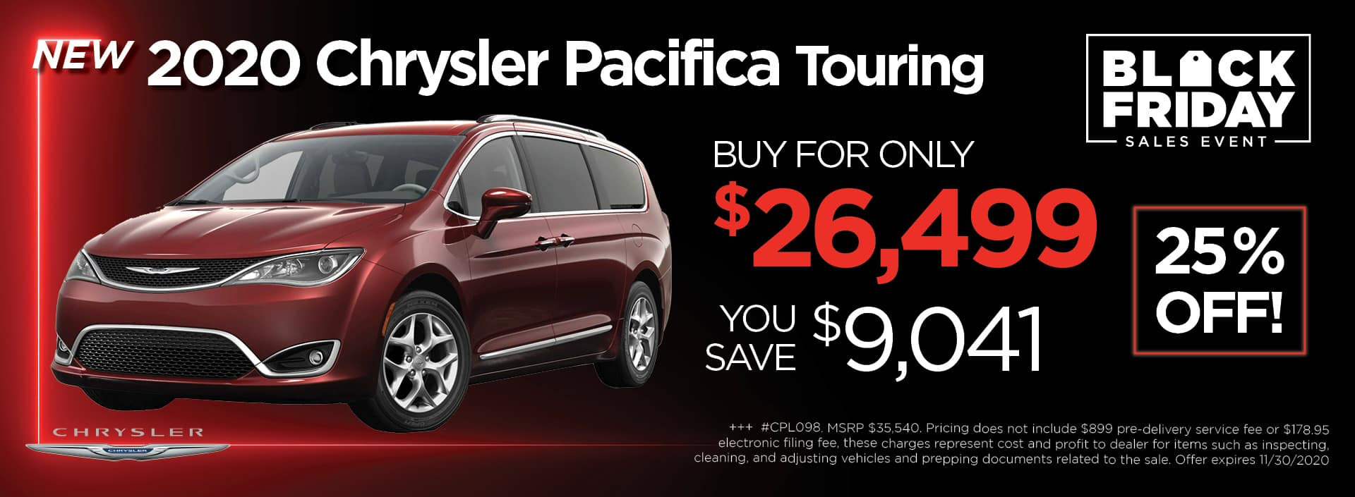 Chrysler Pacifica BlackFriday