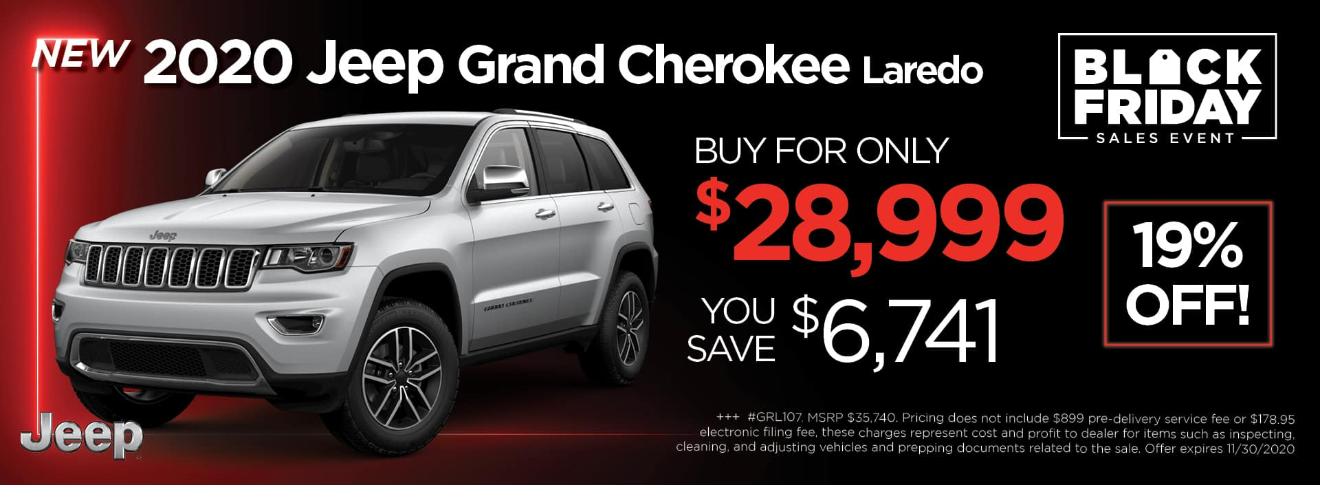 Jeep Grand Cherokee BlackFriday