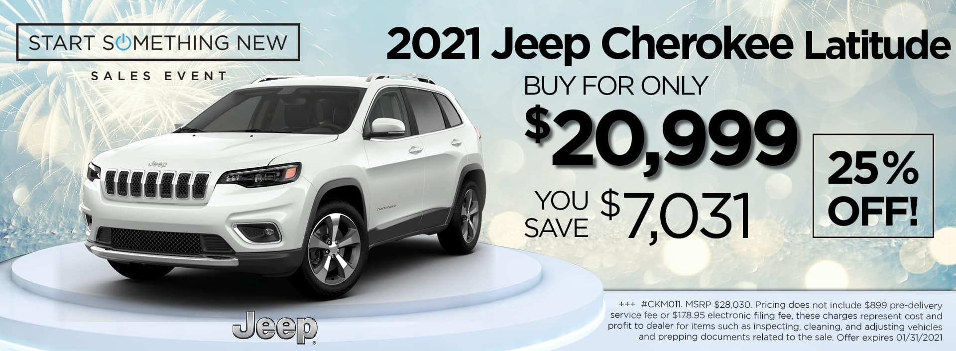 2021 Cherokee 20999