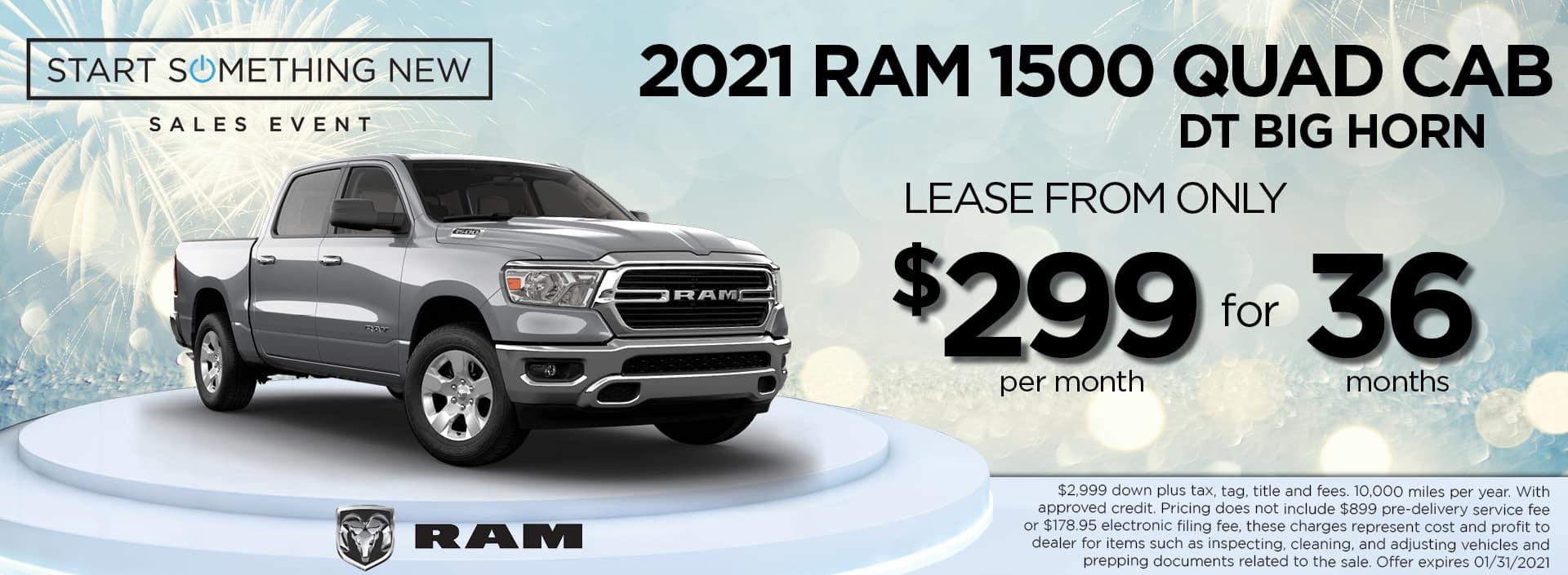 2021 RAM 299