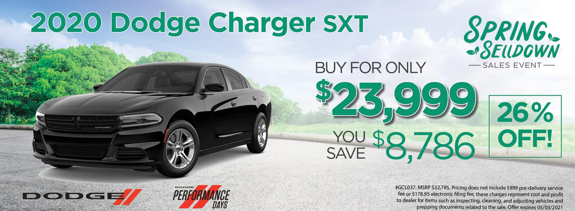 20 Charger 23999