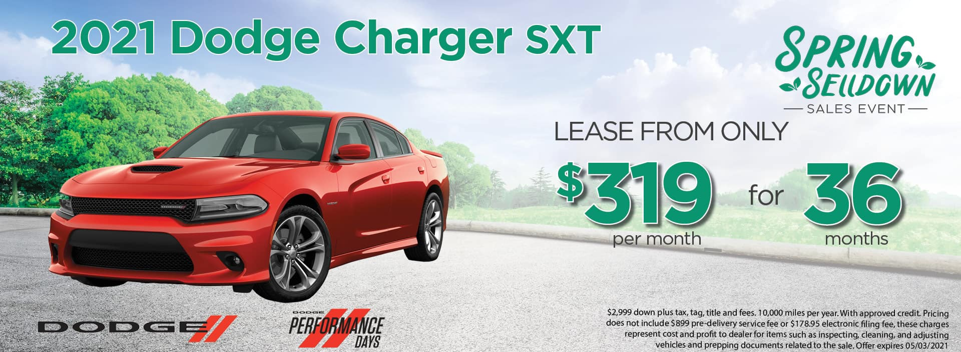 21 Charger 319mo