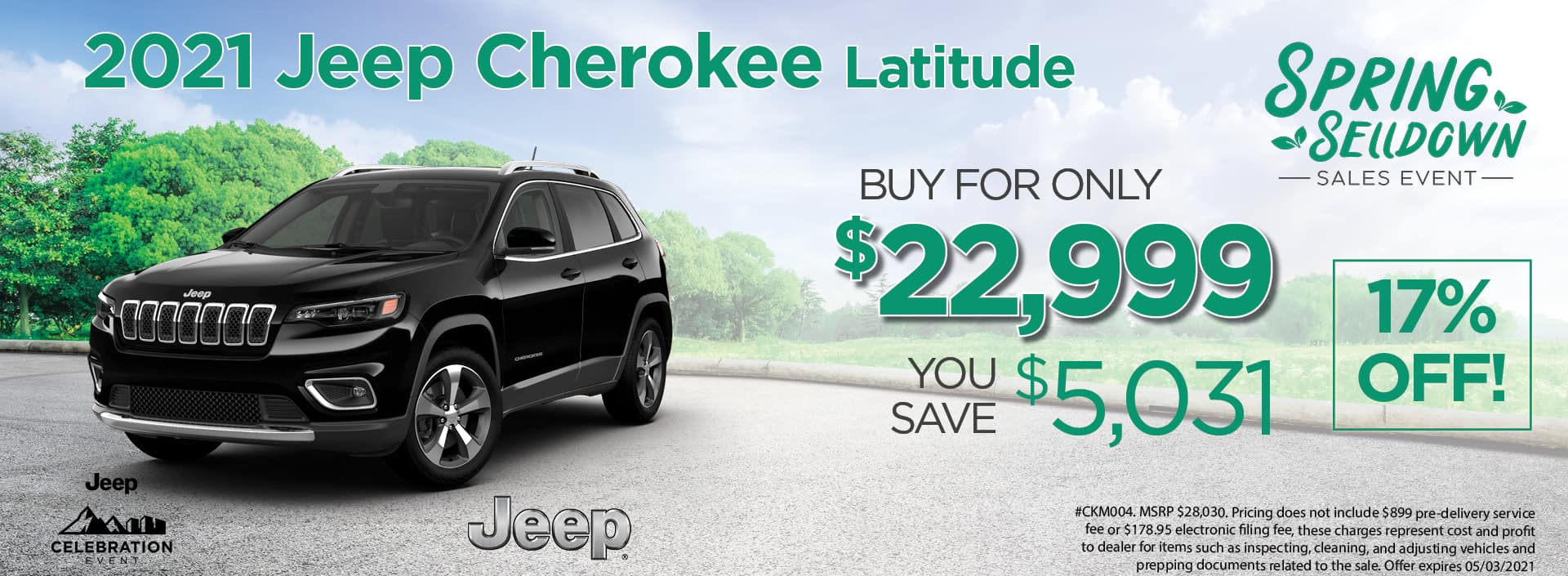 21 Cherokee 22999