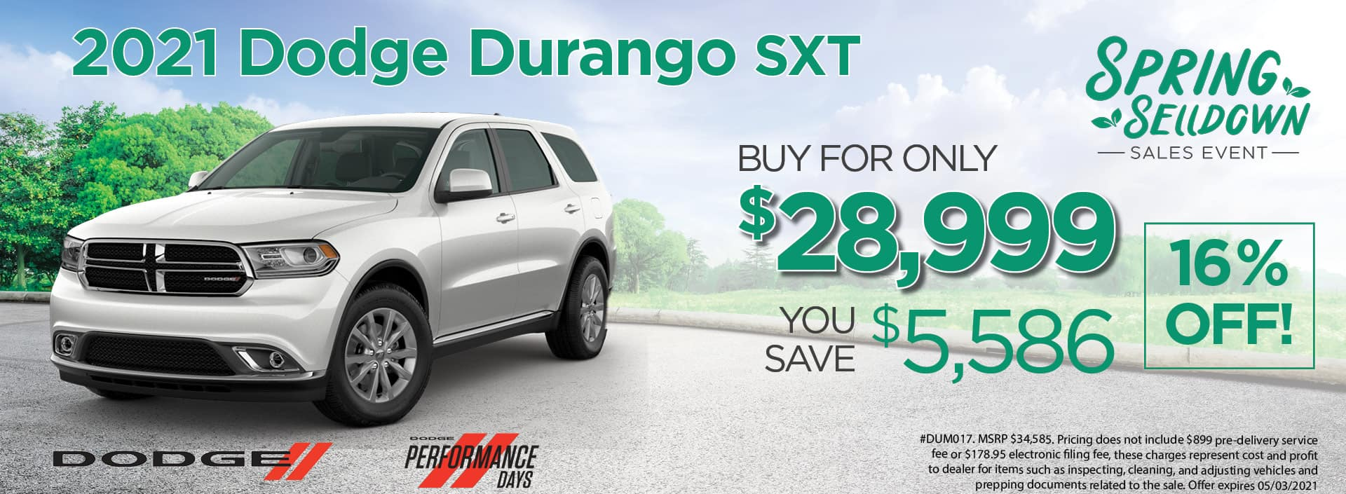 21 Durango 28999
