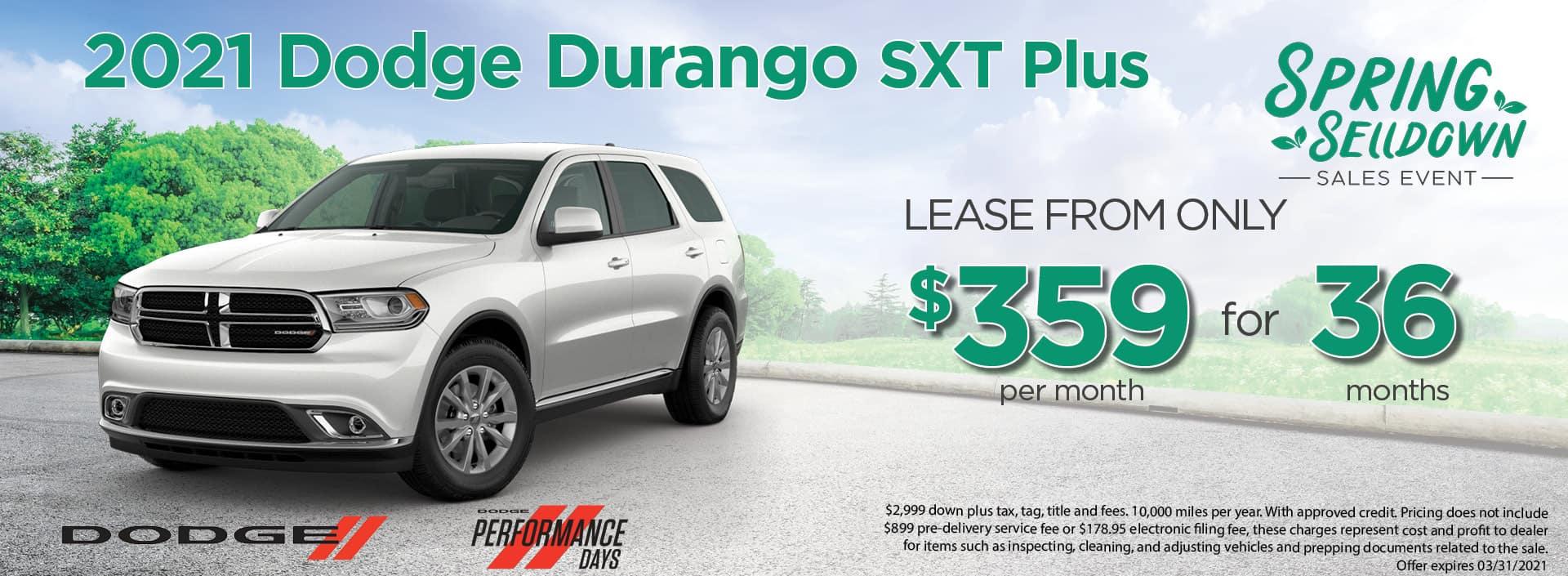 21 Durango 359mo