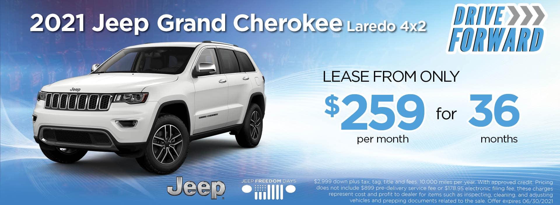 21 Grand Cherokee Laredo 259