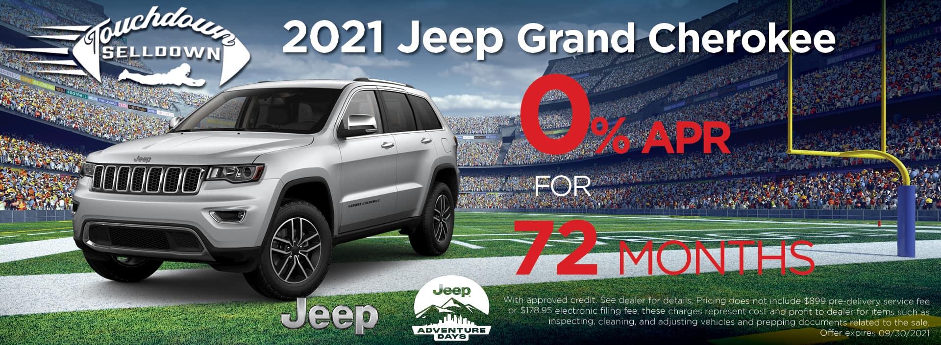 Jeep GC Zero pct