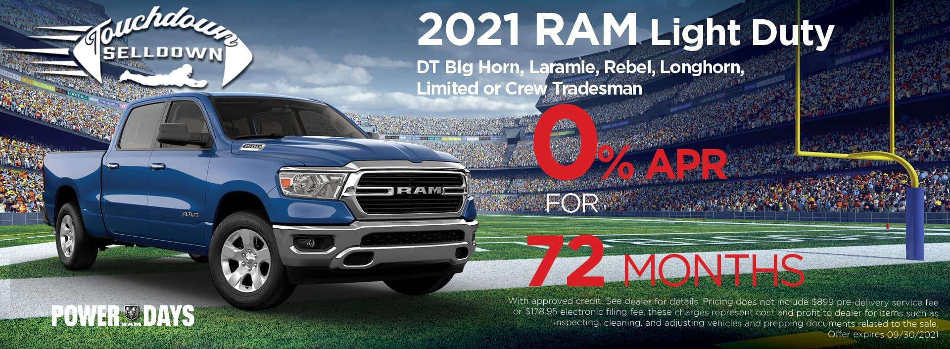 Ram 1500 Zero pct