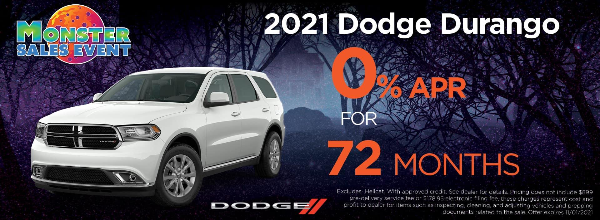 21 Dodge Durango 0pct