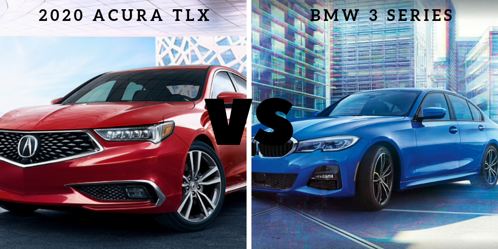 Model Comparison: Acura TLX vs. BMW 3 Series