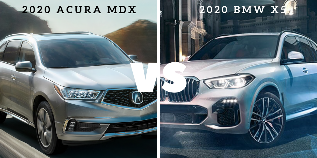Model Comparison: Acura MDX vs. BMW X5