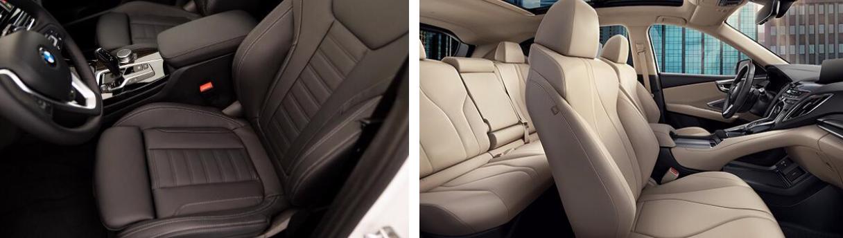 2019 Acura RDX vs BMW X3 Interior
