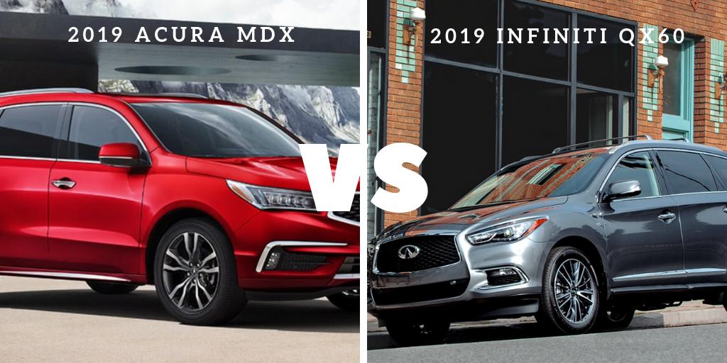 Acura MDX vs Infiniti Q60