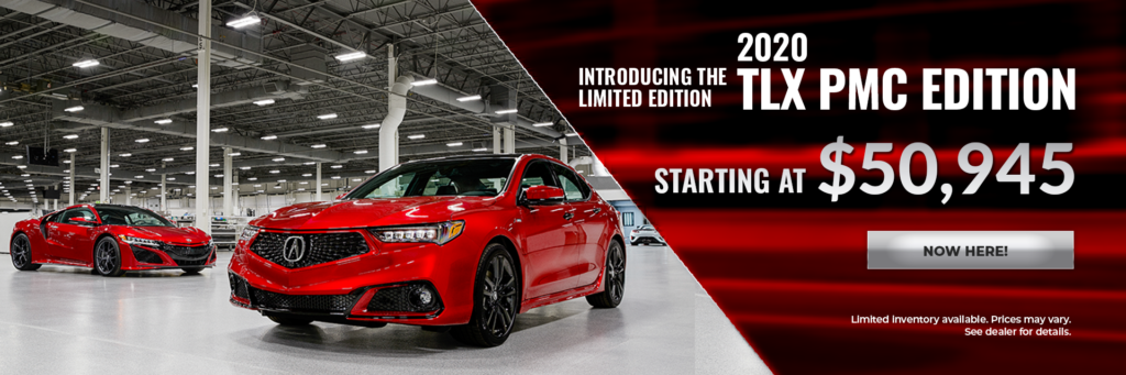Introducing the 2020 TLX PMC at Ed Voyles Acura