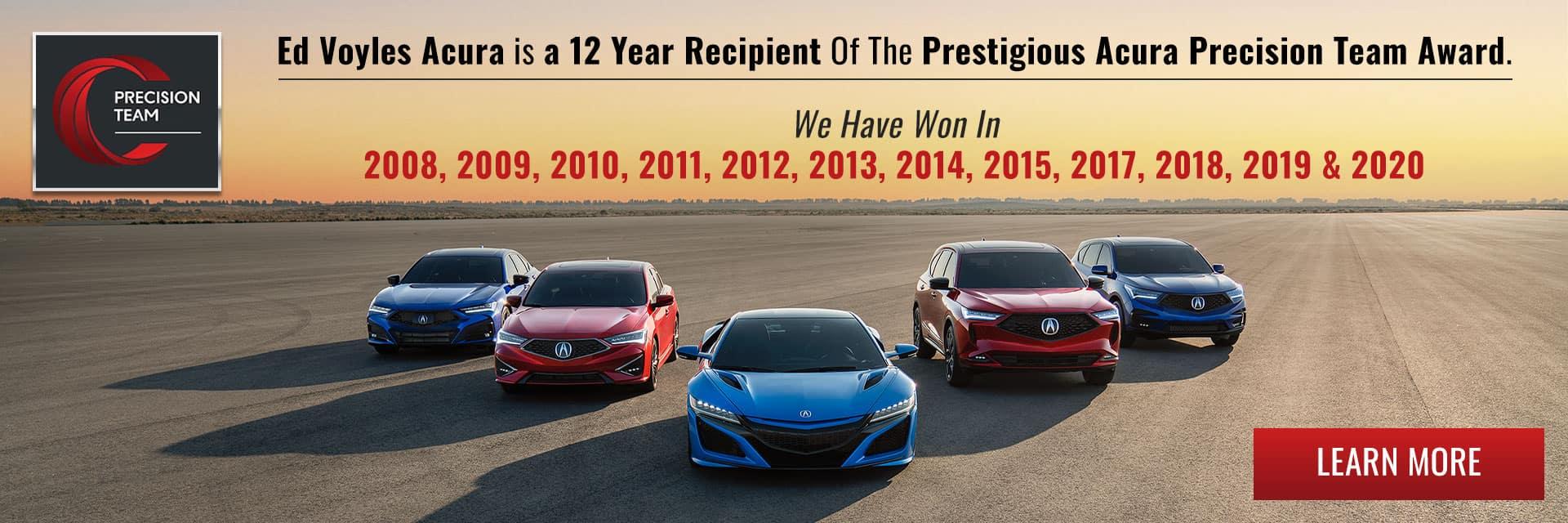 Precision Team Award