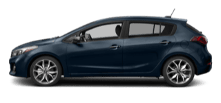 Kia Forte5 model side