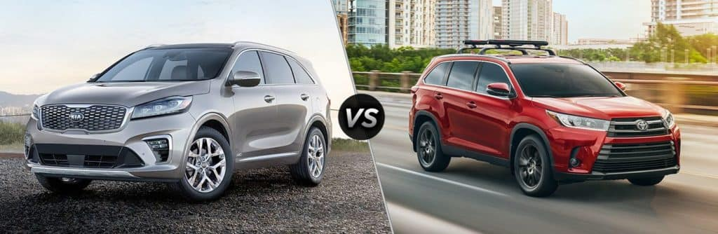 2019-Kia-Sorento-vs-2019-Toyota-Highlander