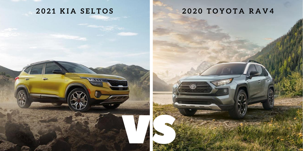 2021 Kia Seltos vs 2020 Toyota RAV4 in Smyrna, GA