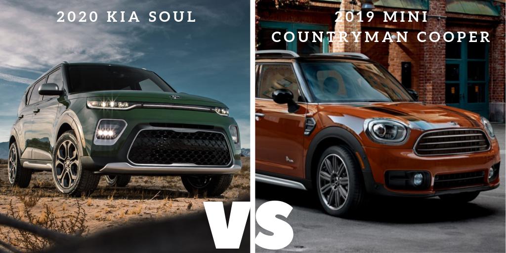 2020 soul vs 2019 countryman cooper