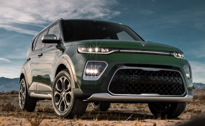 2020 Green Kia Soul - Trim Levels Explained