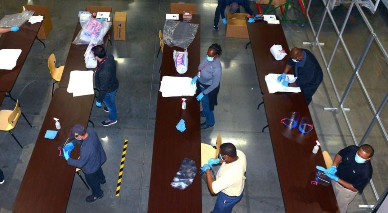 Kia West Point GA Facility Produces Face Masks