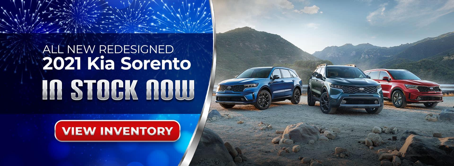 2021 Kia Sorento is now available in Atlanta, GA