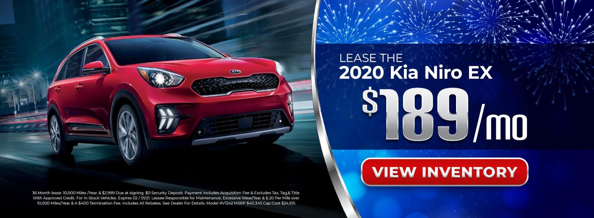 Lease 2020 Kia Niro for $189/mo in Chamblee, GA