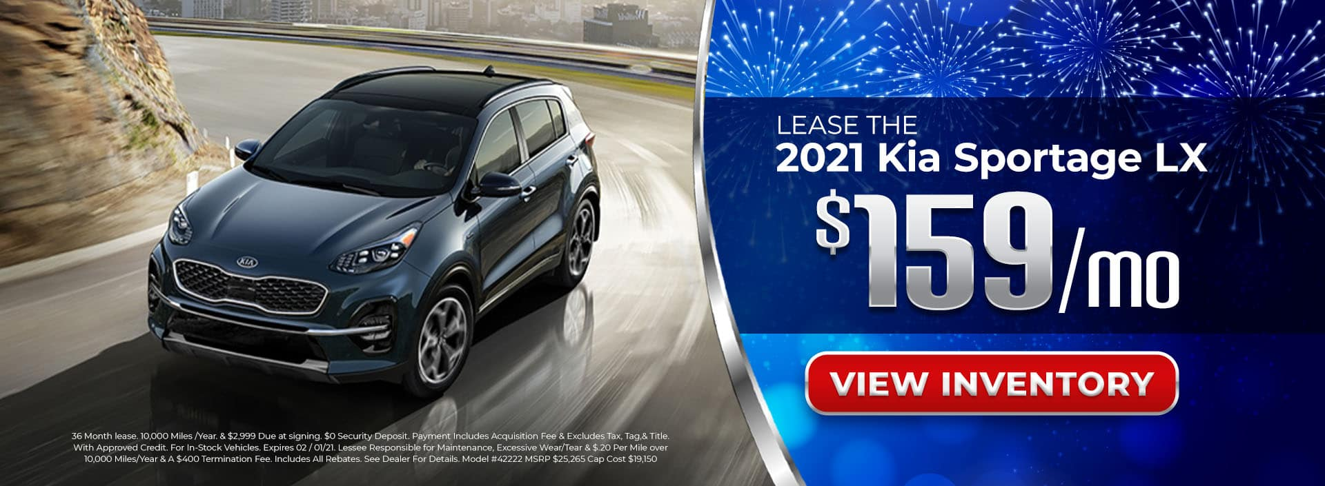 Lease 2021 Kia Sportage for $159/mo in Atlanta, GA