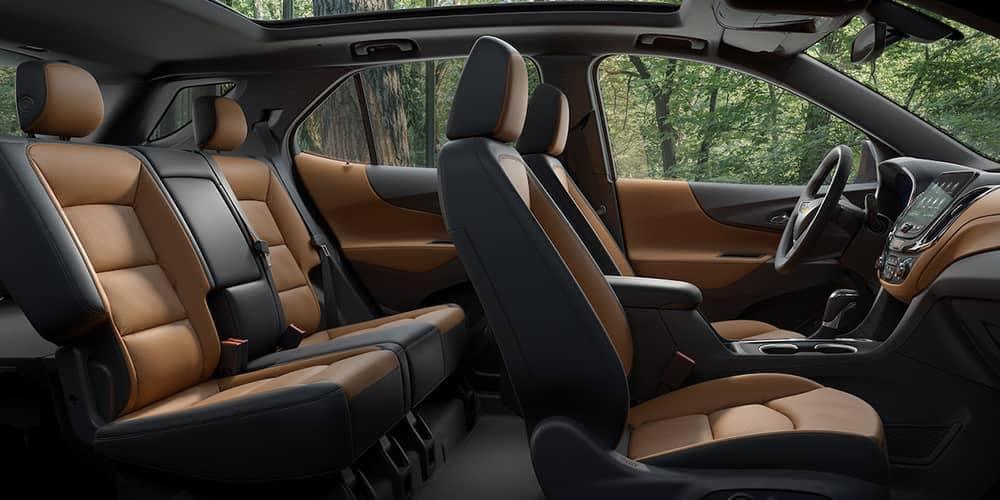 2019 Chevy Equinox Seating