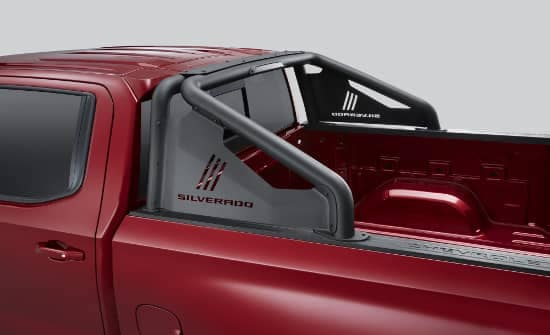 Chevrolet Silverado Black Sport Bar Accessories