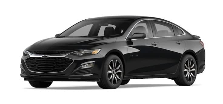 2020 Chevy Malibu profile