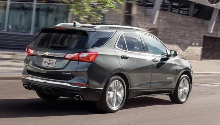 2020 Chevy Equinox exterior rear