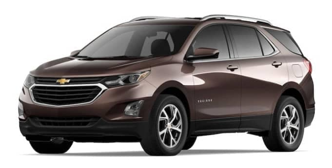2020 Chevy Equinox in Chocolate Metallic