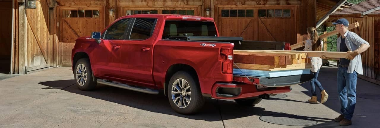 2020 Chevy Silverado truck bed