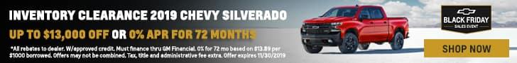 2019 Silverado Clearance