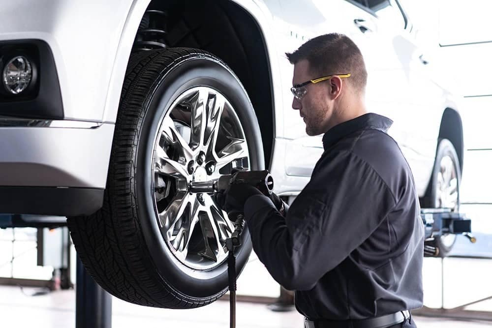 chevy service tires