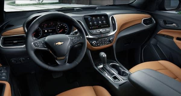 interior dash of 2020 Chevy Equinox
