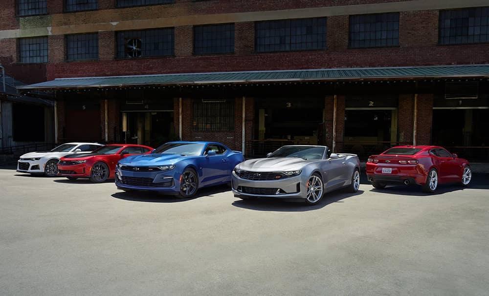 2020 Chevy Camaro Colors