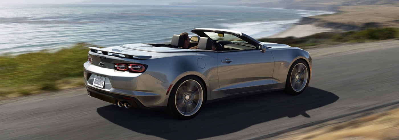 2020 Camaro Driving