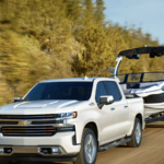 2020 White Chevy Silverado 1500 Towing