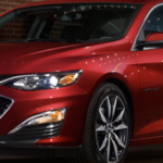 Red Chevy Malibu 2020