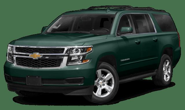 2020 Chevy Suburban Green
