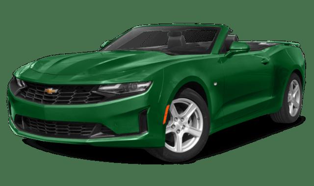 2020 Green Camaro