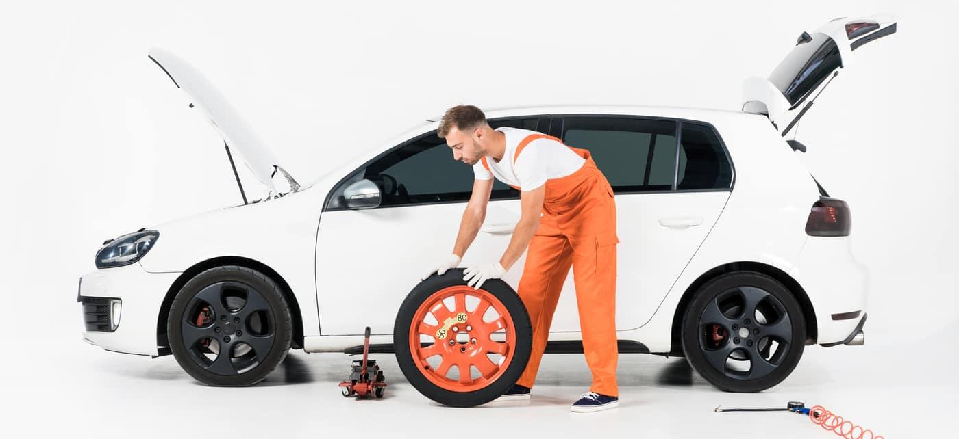 tire change car