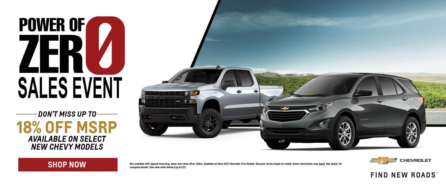 Power of Zero Silver and Gray New 2021 Chevrolet