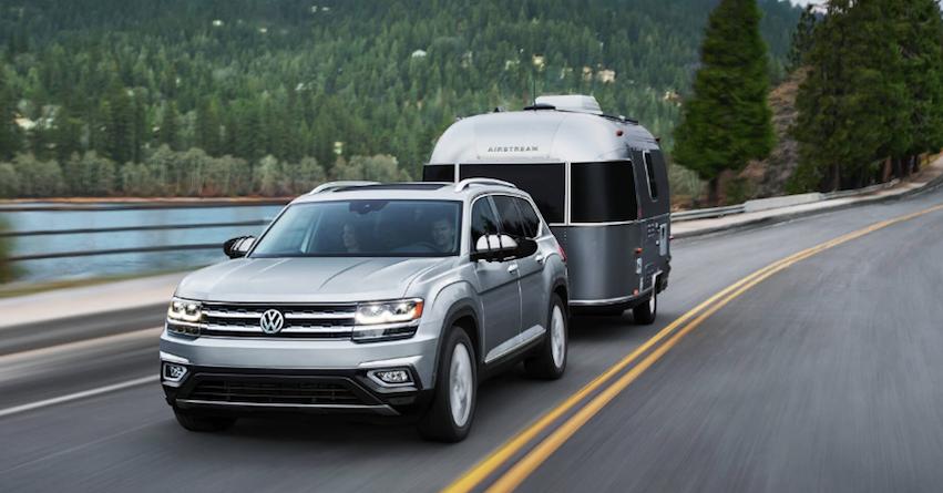 2018 VW Atlas Towing near New Haven